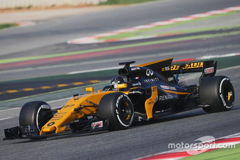 Нико Хюлькенберг, Renault Sport F1 Team RS17