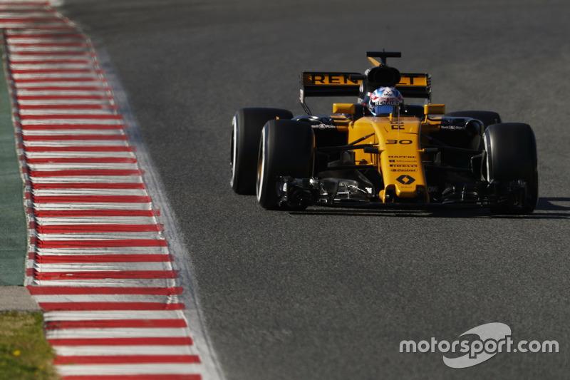 6º Jolyon Palmer, Renault F1 Team RS 17, 1:21.396, blandos (174 vueltas)