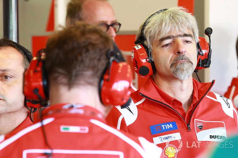 Gigi Dall'Igna,  Manager General de Ducati Team