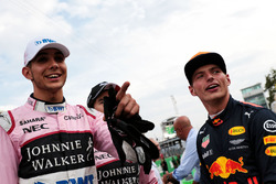 Max Verstappen, Red Bull Racing, Esteban Ocon, Sahara Force India