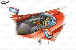 Ferrari F2001 (652) 2001 cockpit
