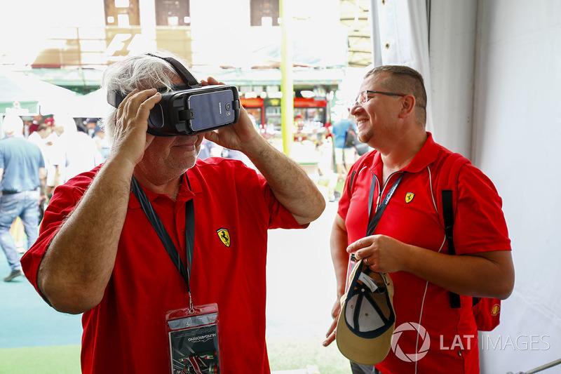 Fans con lentes de VR