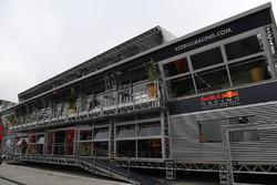 Motorhome: Red Bull Racing und Scuderia Toro Rosso