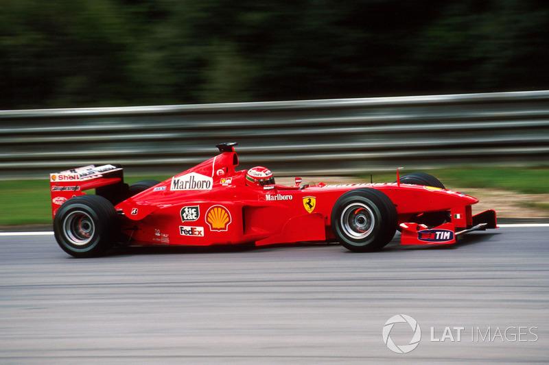 1999: Eddie Irvine