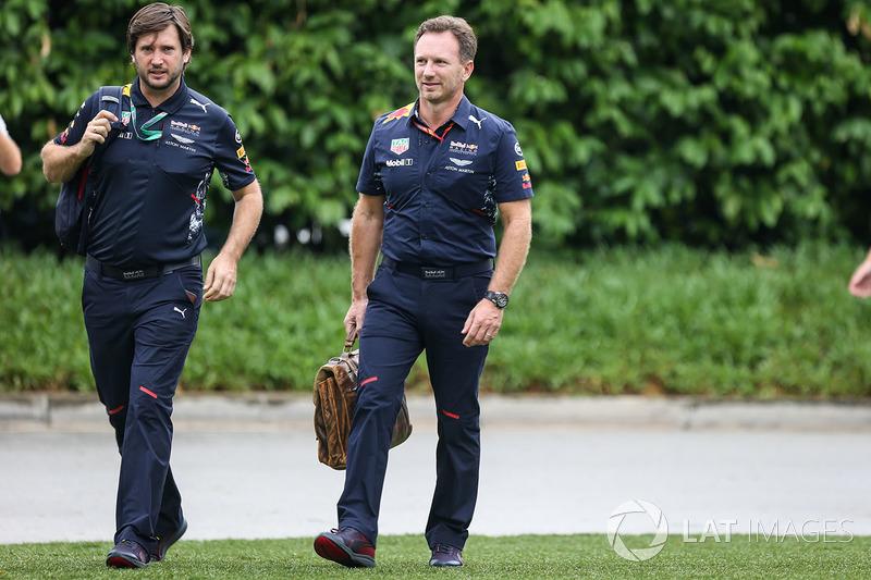 Christian Horner, Red Bull Racing, Teamchef