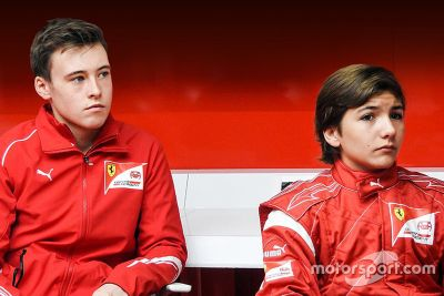 Ferrari Driver Academy announcement