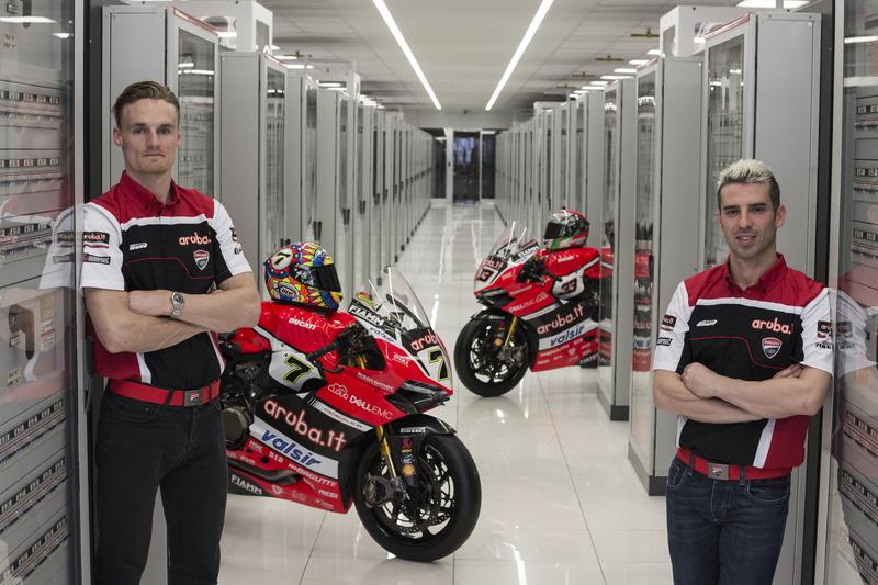 Chaz David und Marco Melandri, Ducati Team
