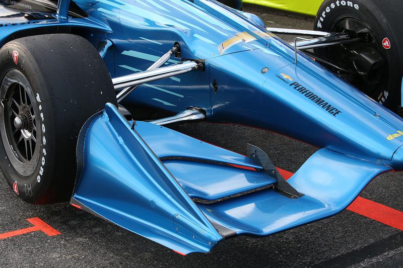 Машина IndyCar для сезону 2018 року з двигуном Chevrolet
