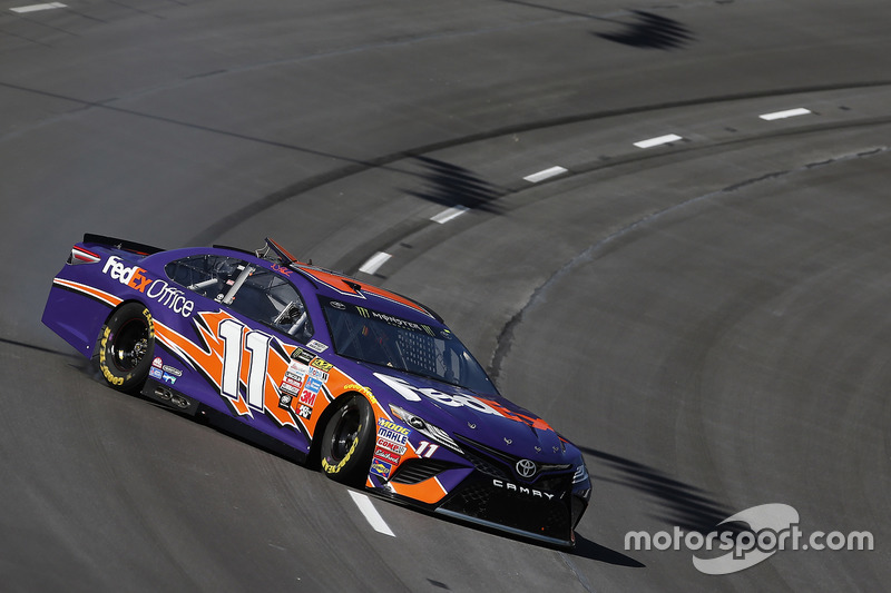 Dreher: Denny Hamlin, Joe Gibbs Racing, Toyota