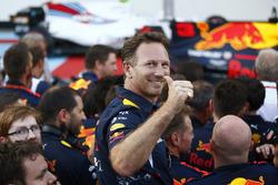 Christian Horner, director del equipo de Red Bull Racing