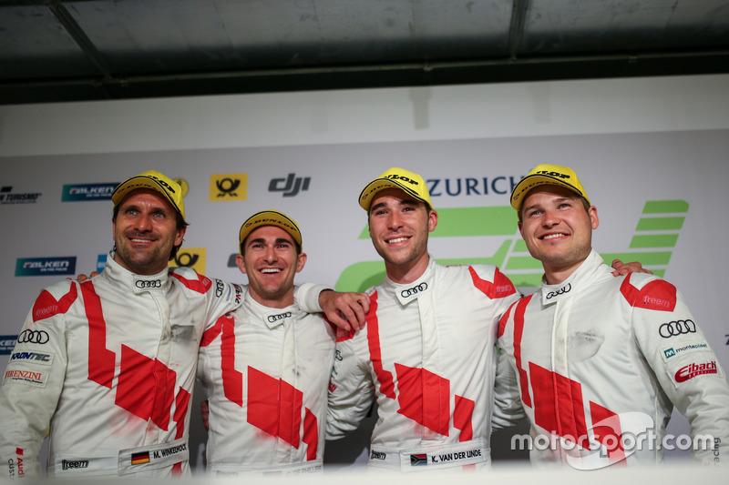 2017: Christopher Mies, Connor De Phillippi, Markus Winkelhock, Kelvin van der Linde