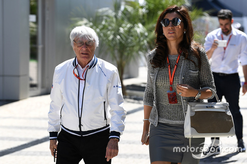 Bernie Ecclestone, wife Fabiana Ecclestone
