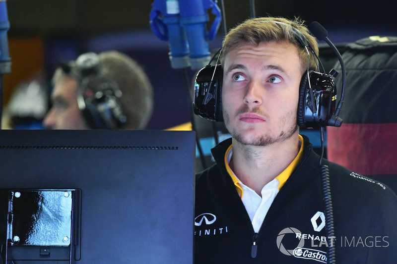 Sergey Sirotkin, Renault Sport F1 Team piloto de prueba