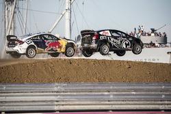 Sebastian Eriksson, Honda; Patrik Sandell, Bryan Herta Rallysport, Ford