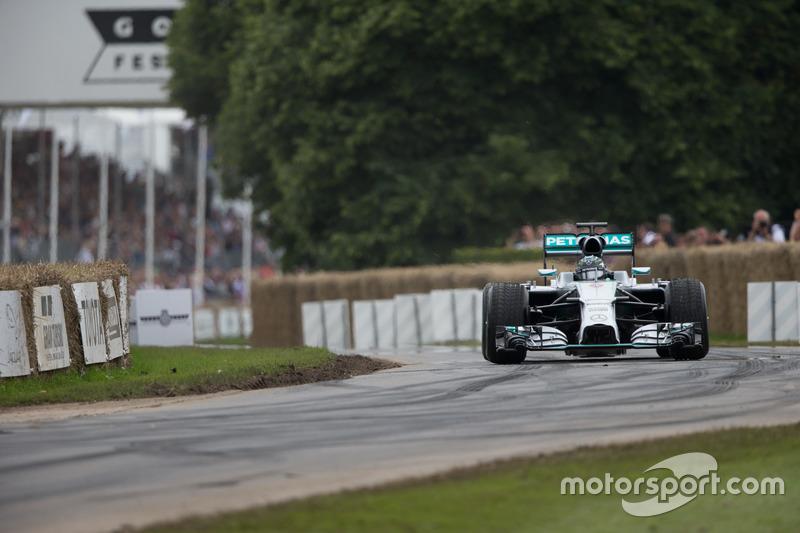 Mercedes Benz F1 W05 Hybrid - Nico Rosberg