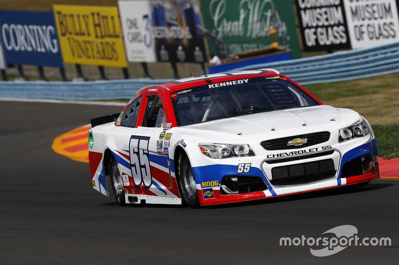 36. Alex Kennedy, Premium Motorsports, Chevrolet (Motorschaden)