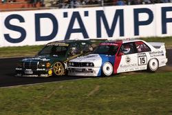 Kurt Thiim, Mercedes 190E 2.5-16 Evo2, und Roberto Ravaglia, BMW M3 Sport Evolution