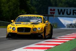 #7 Bentley Team ABT, Bentley Continental GT3: Daniel Abt, Jordan Lee Pepper