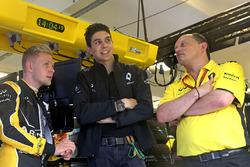 Кевін Магнуссен, Renault Sport F1 Team, Естебан Окон, третій пілот Renault Sport F1 Team та Фредерік