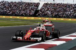 Кими Райкконен, Ferrari SF16-H, Себастьян Феттель, Ferrari SF16-H