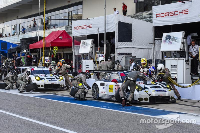 #912 Porsche Team North America Porsche 911 RSR: Earl Bamber, Frédéric Makowiecki, #911 Porsche Team