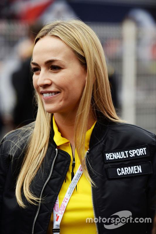 Carmen Jorda, Renault Sport F1 Team, Entwicklungsfahrerin