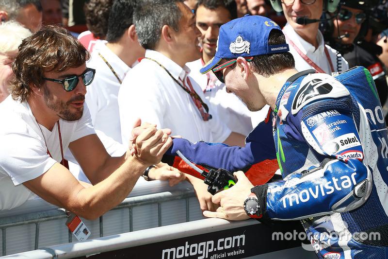 Ganador, Jorge Lorenzo, Yamaha Factory Racing, Fernando Alonso