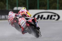 Andrea Iannone, Ducati Team, Andrea Dovizioso, Ducati Team, Scott Redding, Pramac Racing