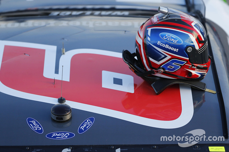 Helmet of Darrell Wallace Jr., Roush Fenway Racing Ford