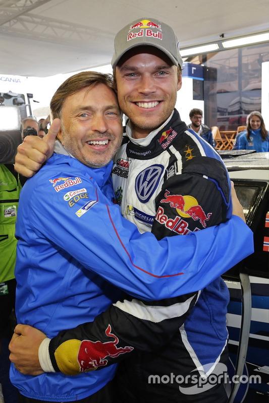Andreas Mikkelsen, Volkswagen Polo WRC, Volkswagen Motorsport mit Jost Capito, Volkswagen Motorsport