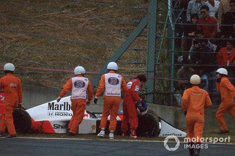 Ayrton Senna, McLaren, Alain Prost, McLaren