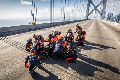 Le Road Trip américain de Red Bull Racing