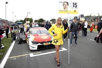 Девушка у машины Аугусту Фарфуса, BMW Team RMG