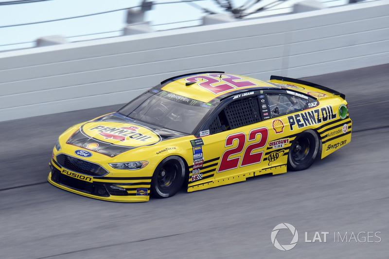 Joey Logano, Team Penske, Ford Fusion Pennzoil