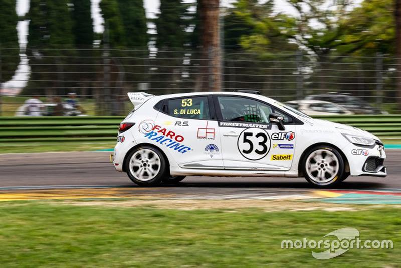Simone Di Luca, Faro Racing, Renault Clio Sport