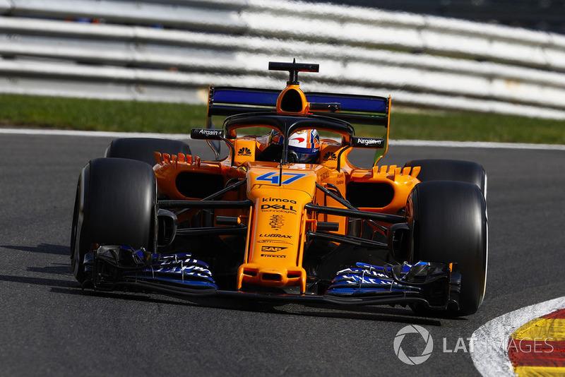 21. Lando Norris, McLaren MCL33