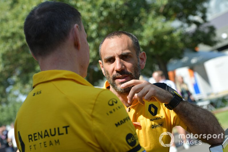 Cyril Abiteboul, Managing Director, Renault F1 Team
