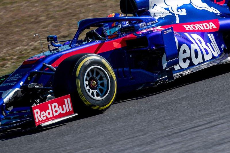 6º Alex Albon, Scuderia Toro Rosso STR14, 1:16.882 (neumáticos C5, día 7)
