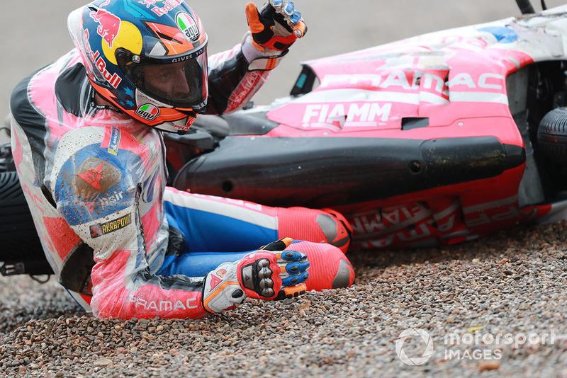 Авария: Джек Миллер, Pramac Racing