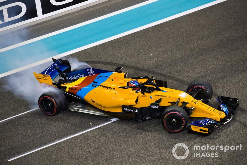 2018: McLaren MCL33 Renault (одно пятое место, 6-е место в КК)