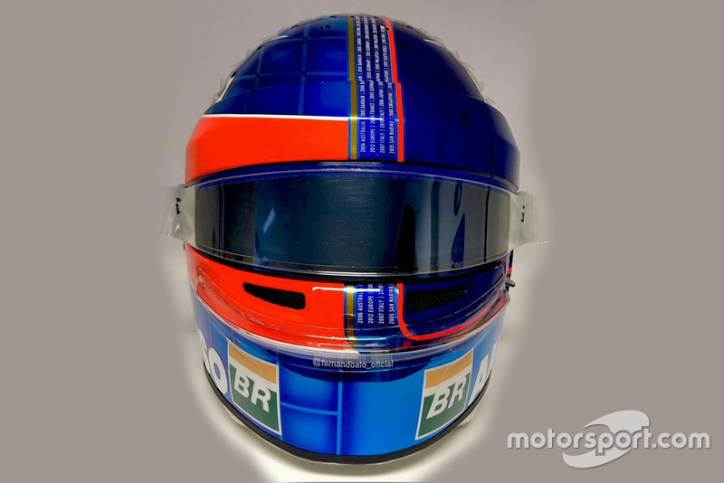 Helm Fernando Alonso, McLaren