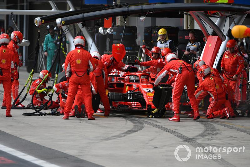 1º Ferrari con Sebastian Vettel: 1,97 segundos