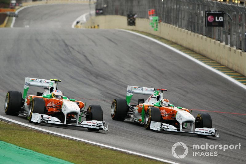 2011: Force-India-Mercedes VJM04