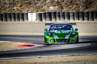 #54 Black Swan Racing Porsche 911 GT3 R: Timothy Pappas, Patrick Long, Jeroen Bleekemolen