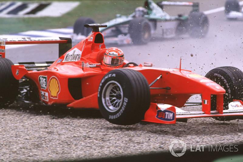 Accidente de Michael Schumacher en Alemania
