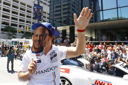 Fernando Alonso, Andretti Autosport Honda pretends to be Tony Kanaan