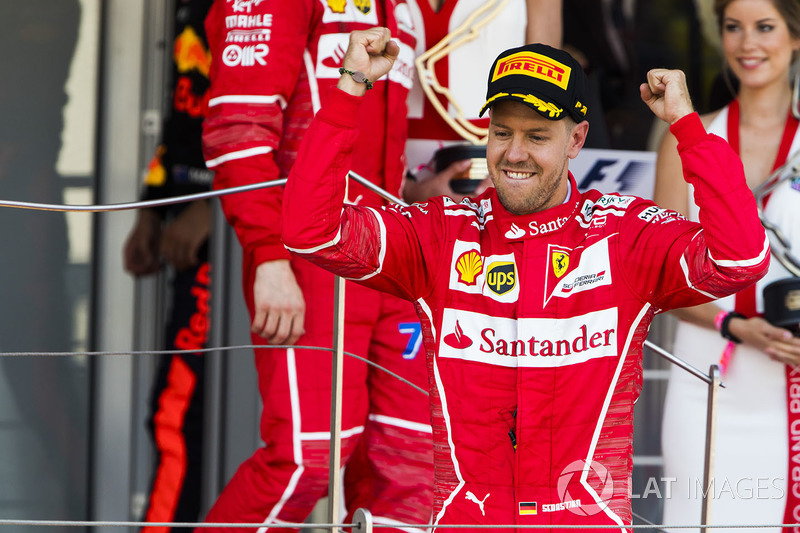 Sebastian Vettel, Ferrari: 1º