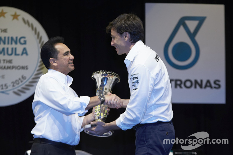 Toto Wolff, accionista y director ejecutivo del Mercedes AMG F1
