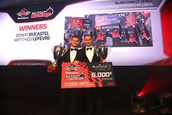 TM Performance Pitstop Challenge winners, Benoit Ducastel, Matthieu Lefevre, Belgian Audi Club Team WRT