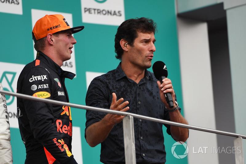 Макс Ферстаппен, Red Bull Racing, Марк Веббер